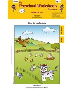 Number Fun Worksheets Level 1 Age3 9788184991291