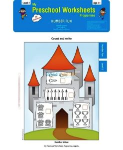 Number Fun Worksheets Level 2 Age4 9788184991307