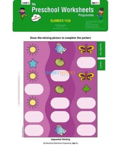 Number Fun Worksheets Level 3 Age5 9788184991314
