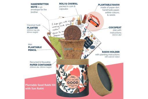 Plantable Seed Rakhi Kit
