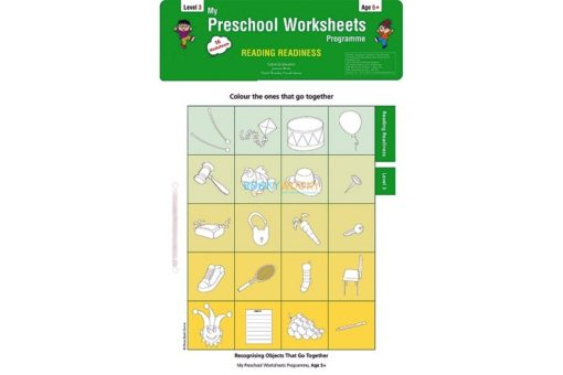 Reading Readiness Worksheets Level 3 Age5 9788184991581
