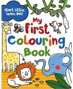 Start Little, Learn Big! My First Colouring Book Cover1