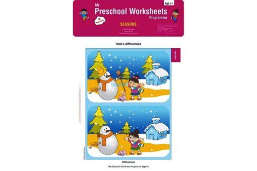 Seasons Worksheets Age5 9788184991796