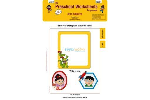Self Concept Worksheets Level 1 Age3 9788184991321