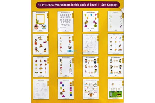 Self Concept Worksheets Level 1 Age3 9788184991321-inside pages