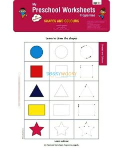 Shapes and Colours Worksheets Age5 9788184991734