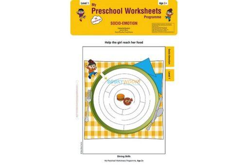 Socio Emotion Worksheets Level 1 Age3 9788184991444
