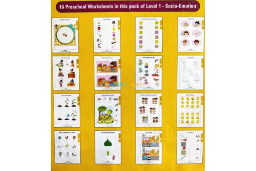 Socio Emotion Worksheets Level 1 Age3 9788184991444-inside pages
