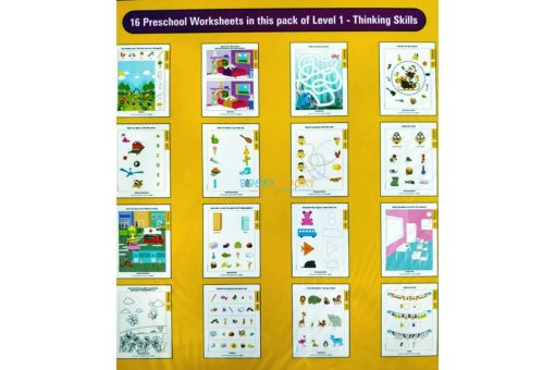 Thinking Skills Worksheets Level 1 Age3 9788184991413-inside pages