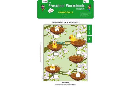 Thinking Skills Worksheets Level 3 Age5 9788184991437