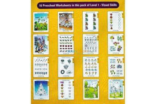 Visual Skills Worksheet Level 1 Age3-inside pages