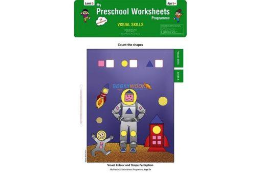 Visual Skills Worksheets Level 3 Age5 9788184991284