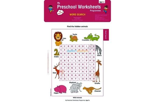 Word Search Worksheets Age5 9788184991826