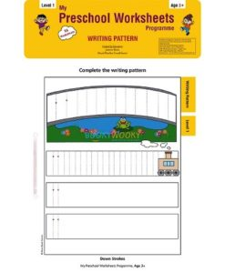 Writing Pattern Worksheets Level 1 Age3 9788184991536