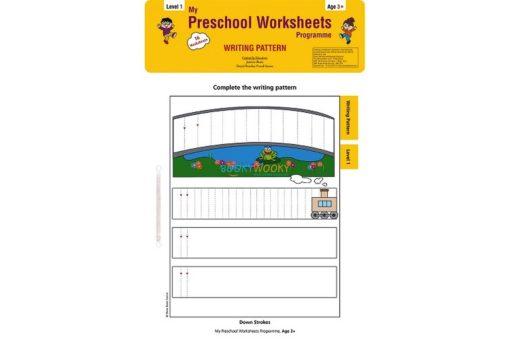 Writing Pattern Worksheets Level 1 Age3 9788184991536