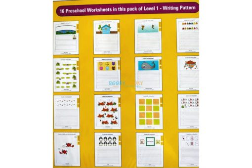 Writing Pattern Worksheets Level 1 Age3 9788184991536-inside pages