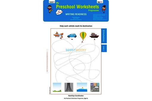 Writing Readiness Worksheets Level 2 Age4 9788184991482