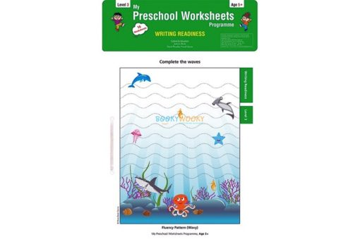 Writing Readiness Worksheets Level 3 Age5 9788184991499