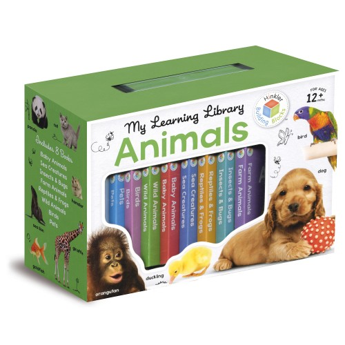 Hinkler Building Blocks My Learning Library – Animals - Gift Pack - 9781743678114