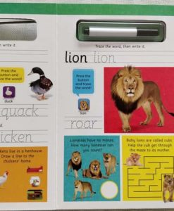 Write and Wipe Animals with Sounds Inside2
