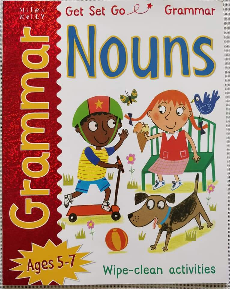 Get Set Go Grammar Nouns Wipe Clean Activities