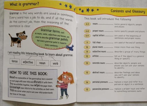 Get Set Go Grammar Nouns Index Page
