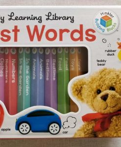 My Learning Library First Words - Front Gift Box by Hinkler Building Blocks