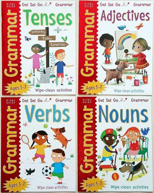 Get Set Go Grammar Set of 4 titles