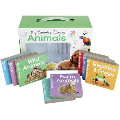 My Learning Library – Animals - Box with All Books