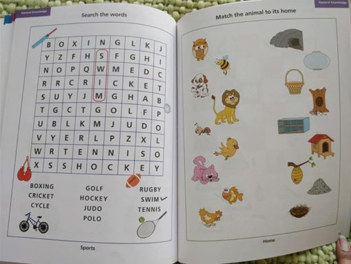 Preschool Success Skills Level 3 Clever Kids Workbook - Inside pages