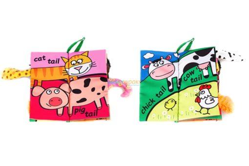 Farm Tails cloth book inside4