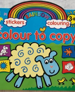 Rainbow Stickers Colouring Colour to Copy (1)