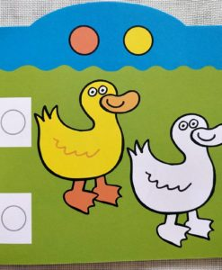 Rainbow Stickers Colouring Colour to Copy (2)