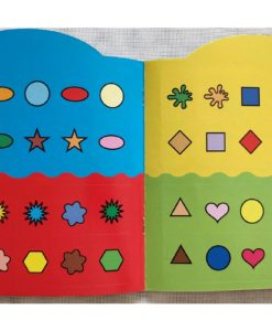 Rainbow Stickers Colouring Colour to Copy (5)