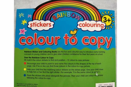 Rainbow Stickers Colouring Colour to Copy (8)