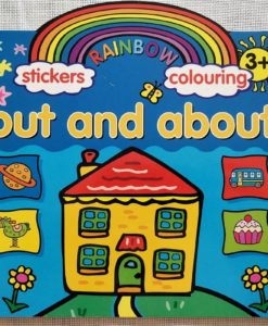 Rainbow Stickers Colouring Out and About (1)