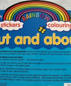 Rainbow Stickers Colouring Out and About (8)