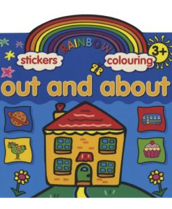 Rainbow Stickers Colouring Out and About - 9781845311964