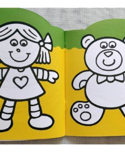 Rainbow Stickers Colouring Playtime (2)