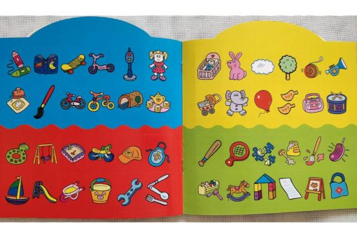 Rainbow Stickers Colouring Playtime (4)