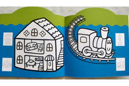 Rainbow Stickers Colouring Playtime (6)