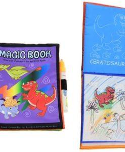 Reusable Magic water colouring book Dinosaurs Inside (3)