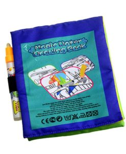 Reusable Magic water colouring book Vehicle back