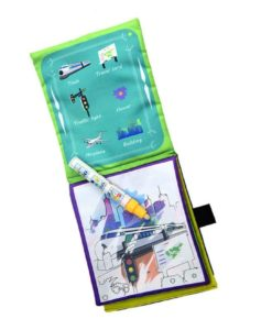 Reusable Magic water colouring book Vehicle2