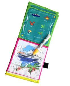 Reusable Magic water colouring book Vehicle3