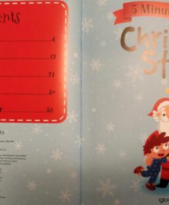5 Minute Tales Christmas Stories Index Contents Page