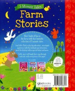 5 Minute Tales Farm Stories Igloo Books 9781785576317 Back Cover (1)