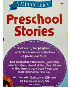 5 Minute Tales Preschool Stories Igloo Books 9781786704726 Back Cover
