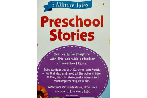 5 Minute Tales Preschool Stories Igloo Books 9781786704726 Back Cover