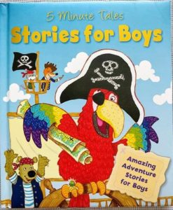 5 Minute Tales Stories for Boys 9780857802705 Front Cover (2)